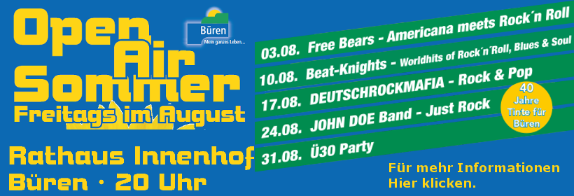 Bürener Open-Air-Sommer